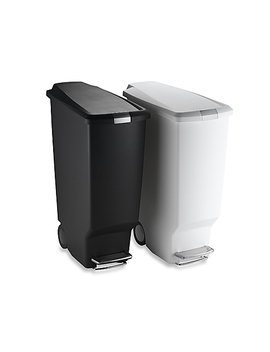 Simplehuman® Slim Plastic 40 Liter Step On Trash Can by Bed Bath And Beyond
