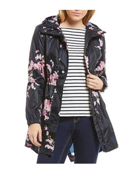 Joules Golightly Waterproof Pack A Way Rain Jacket by Joules