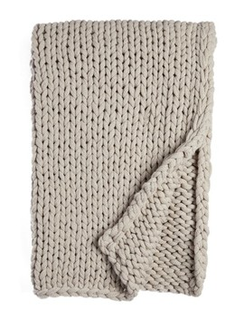 Knit Throw by Treasure & Bond