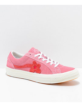 Converse X Golf Wang One Star Le Fleur Geranium Shoes by Converse