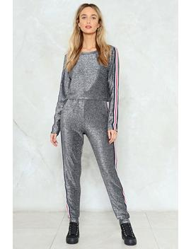 Give It A Rest Lounge Sweatshirt And Jogger Pants Set by Nasty Gal