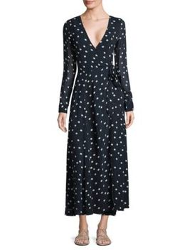 Marceau Goergette Wrap Dress by Ganni