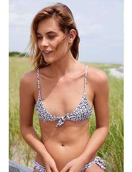 Cathedral Printed Bikini Top by Free People
