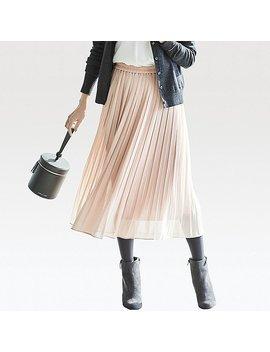 Jupe PlissÉe Taille Haute Femme by Uniqlo