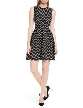 Bryena Jacquard Fit & Flare Dress by Ted Baker London