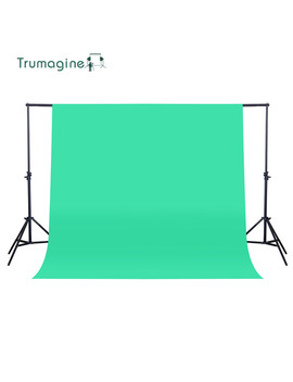 Trumagine 160 X200 Cm Photo Background Photography Backdrop Non Woven Green Photo Studio Shooting Chroma Key Screen Solid Color  by Photostudio Sets Store