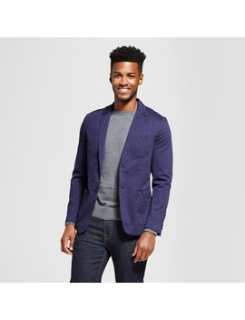 Men's Standard Fit Deconstructed Chino Blazer   Goodfellow & Co™ by Goodfellow & Co™