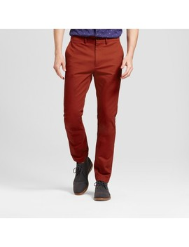 Men's Slim Fit Hennepin Chino Pants   Goodfellow & Co™ Rust by Goodfellow & Co™