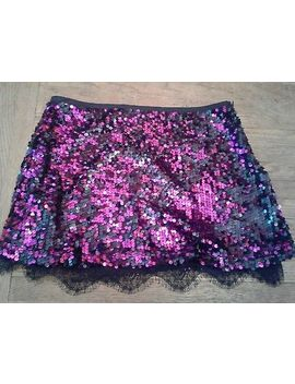Baby Phat Size 3 Purple Pink Sequins And Lace Mini by Pink