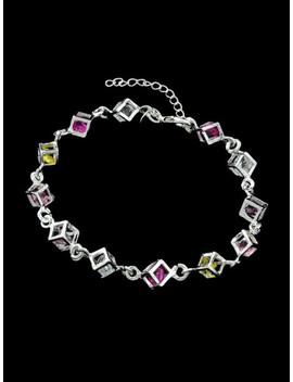 New Wrist Band Silver Color Bracelet by Sheinside