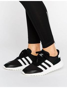 Adidas Originals Black Flb Racer Sneakers by Adidas
