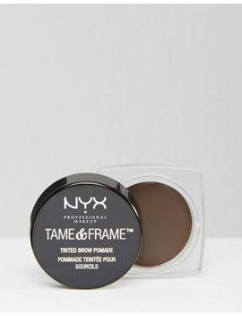 Nyx Professional Makeup   Tame & Frame Tinted Brow Pomade by Nyx Professional Make Up