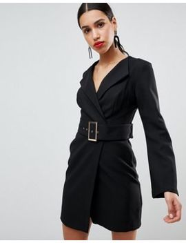 River Island Belted Tailored Dress by River Island