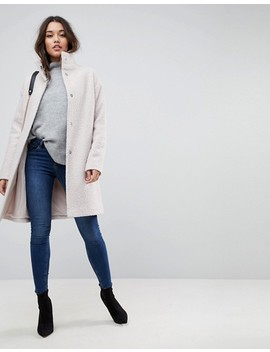 "<Font Style=""Vertical Align: Inherit;""><Font Style=""Vertical Align: Inherit;"">Asos Oversize Coat With Stand Up Collar</Font></Font> by  Asos Collection"