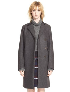 'norman' Bonded Wool Coat by Marc By Marc Jacobs