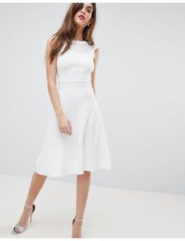 French Connection Knitted Fit And Flare Dress by French Connection