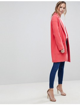 "<Font Style=""Vertical Align: Inherit;""><Font Style=""Vertical Align: Inherit;"">Asos Crepe Coat With Pocket Detail</Font></Font> by  Asos Collection"