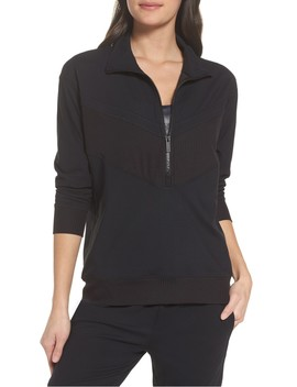 Cato Quarter Zip Pullover by Alala