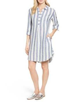 Linen Shirt Dress by Caslon®