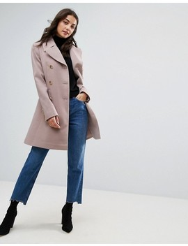 "<Font Style=""Vertical Align: Inherit;""><Font Style=""Vertical Align: Inherit;"">Asos Tall   Military Style Buttoned Swing Coat</Font></Font> by  Asos Tall"