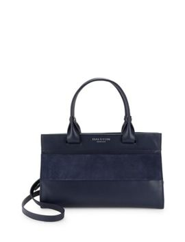 Strappy Large Satchel Bag by Halston Heritage