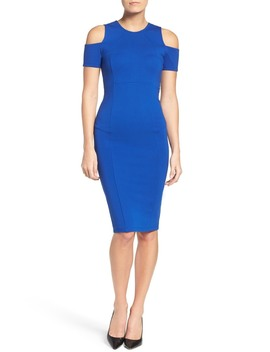Cold Shoulder Midi Dress by Felicity And Coco