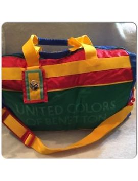 Vintage United Colors Of Benetton Travel Bag Matelot Vintage One by United Colors Of Benetton