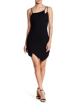 Ponti Asymmetrical Dress by Lush