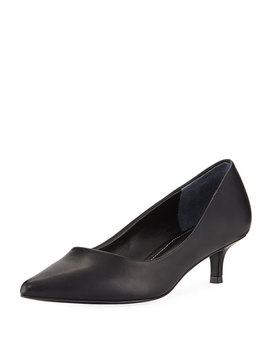 Dare Low Heel Leather Pump by Charles By Charles David