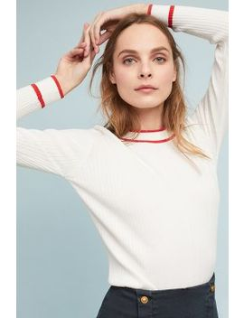 Ebba Trimmed Pullover by Just Female