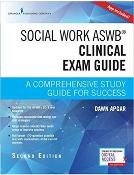 Social Work Aswb Clinical Exam Guide, Second Edition: A Comprehensive Study Guide For Success by Amazon