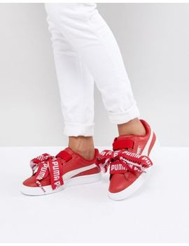 Puma Basket Heart Sneaker by Puma