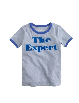 Boys' Expert Ringer T Shirt by J.Crew
