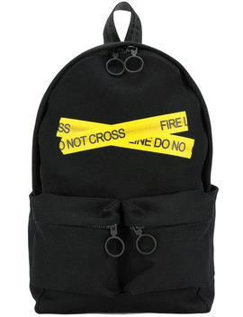 Fire Tape Backpack by Off White