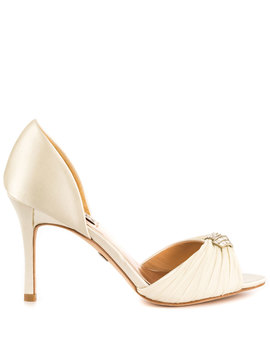 Jennifer   Ivory Satin by Badgley Mischka