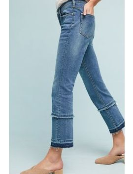 Pilcro High Rise Cropped Bootcut Jeans by Anthropologie