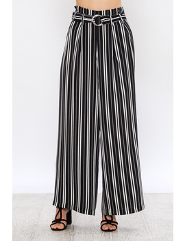 Wide Striped Pants by Dor L'dor, New York City