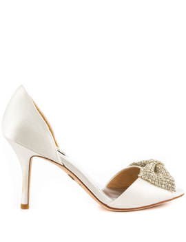 Lisbeth   White Satin by Badgley Mischka