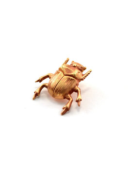 Beetle Pin, Scarab Pin, Tie Pin, Lapel Pin, Tie Tack, Tiny Bug, Insect Pin, Beetle Brooch, Gold Beetle by Etsy