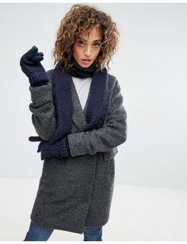 Boardmans Knitted Gloves Scarf And Hat by Scarf