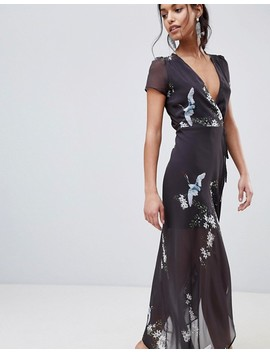 Hope &Amp; Ivy Floral Maxi Dress by Hope And Ivy
