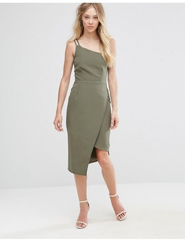 Oh My Love One Shoulder Midi Dress by Oh My Love