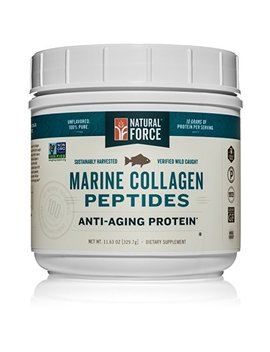 New  Natural Force Wild Caught Tasteless Marine Collagen Powder Best Marine Collagen For Skin... by Natural Force