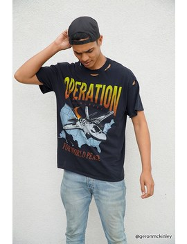 Distressed Operation Graphic Tee by Forever 21