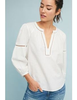 Evie Embroidered Lace Top by Akemi + Kin