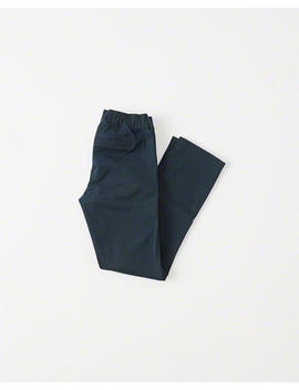 Pull On Straight Chino Pants by Abercrombie & Fitch