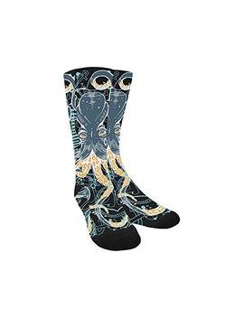 Unique Debora Custom Hosiery Knee High Socks Leg Warmers For Unisex by Artsadd