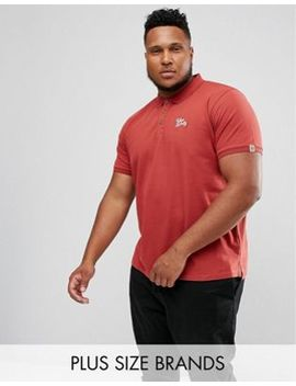 Tokyo Laundry Plus Slim Fit Stretch Polo by Polo Shirt