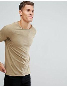 Produkt T Shirt With Roll Hem And Raglan Sleeve by Produkt