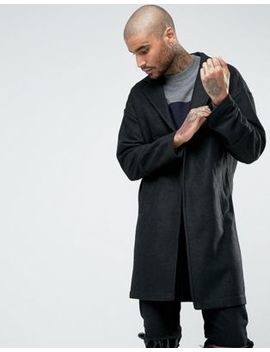 Religion Dagger Wool Mix Coat by Religion